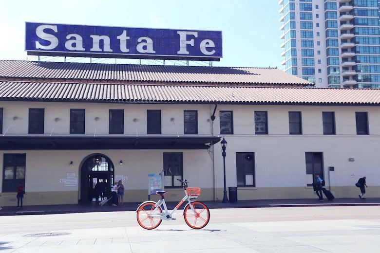 サンディエゴ、サンタフェ駅